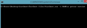 Fastboot-commands