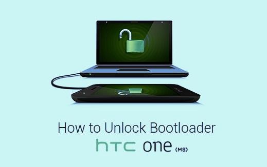 طريقة فتح قفل البوتلودر لجهاز HTC ONE M8