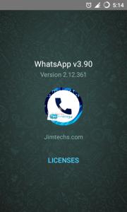 تطبيق واتس اب بلس اخر تحديث بدون حظر whatsapps  v3.90