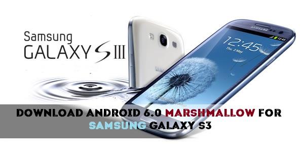 "روم Resurrection Remix ""مارشملو 6.0.1"" لهاتف جالكسي أس 3 موديل GT-I9300"