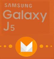 """[تحديث] الروم العربي الرسمي """"مارشملو 6.0.1"""" لجالكسي J5 موديل SM-J500F"""