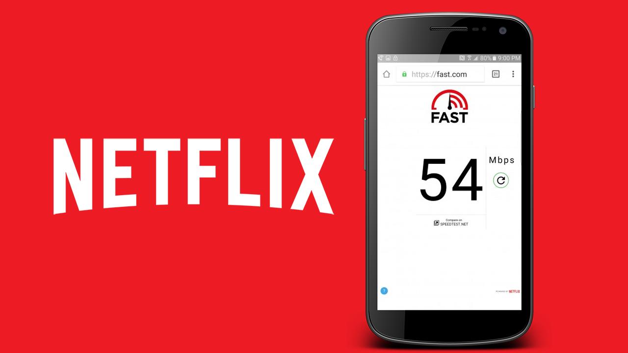 موقع Fast.com من شركة Netflix لقياس سرعة الانترنت على هاتفك الاندرويد او اجهزتك الأخرى