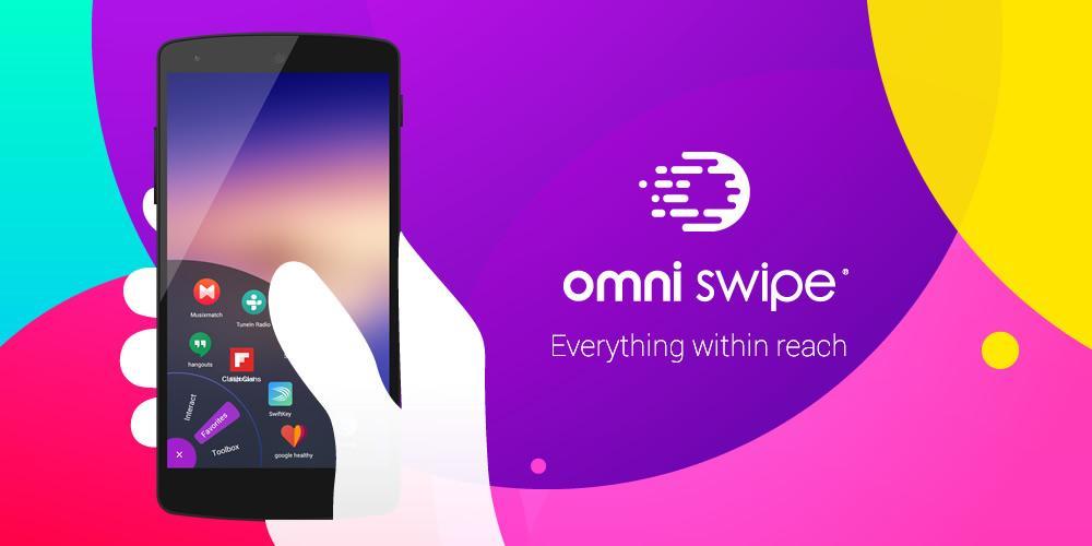 تطبيق Omni Swipe القرص الدوار لعرض التطبيقات