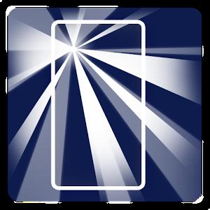 تطبيق الكشاف Power button torch