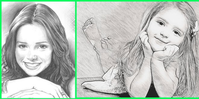 تطبيق Photo To Pencil Sketch Effects لتحويل الصور الفوتوغرافية إلى
