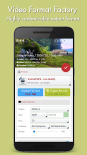 تطبيق Video Format Factory Premium Unlocked لتحويل صيغ الفيديوهات و الموسيقى