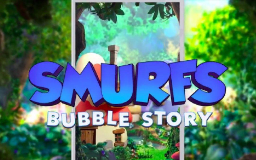 تحميل لعبة السنافر الشقية smurfs bubble story مجاناً