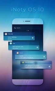 تطبيق iNoty OS 11 لتغيير اشعارات و اعدادات الهاتف الى شكل هواتف الايفون