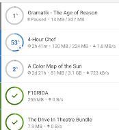 تطبيق BitTorrent®- Torrent Downloads
