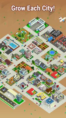 لعبة بناء المدينة Bit City للاندرويد