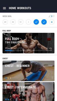 لعبة التمارين المنزلية Home Workout - No Equipment للاندرويد