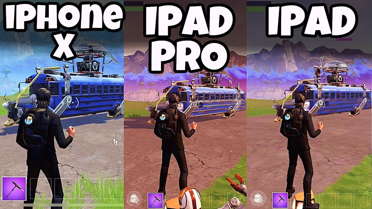 لعبة فورت نايت Fortnite ios للايفون والايباد