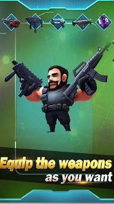 لعبة الأكشن Conflict.io: Battle Royale Battleground للاندرويد