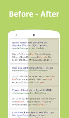 تحميل تطبيق حماية العين من ضوء الهاتف Bluelight Filter - Night Mode للاندرويد