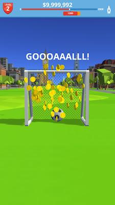 تحميل لعبة كرة القدم الخفيف Soccer Kick للاندرويد كاملة