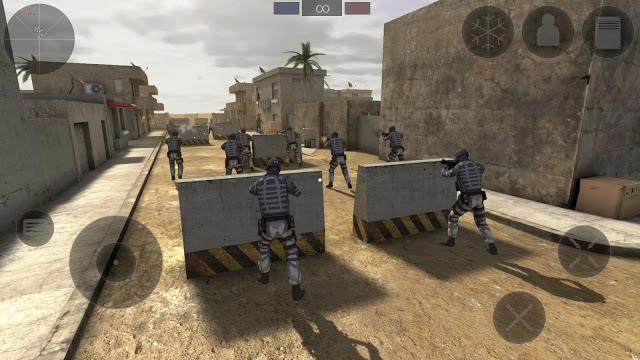 تحميل لعبة قتال الزومبي Zombie Combat Simulator للاندرويد