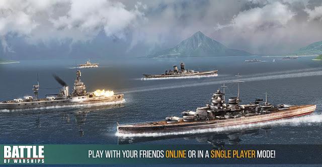 تحميل لعبة حروب السفن Battle of Warships للاندرويد