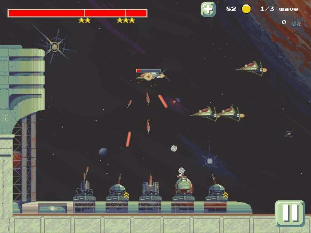 لعبة Space TD الرائعه