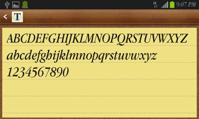 خطوط انجليزية رهيبه بصيغة apkـ english font