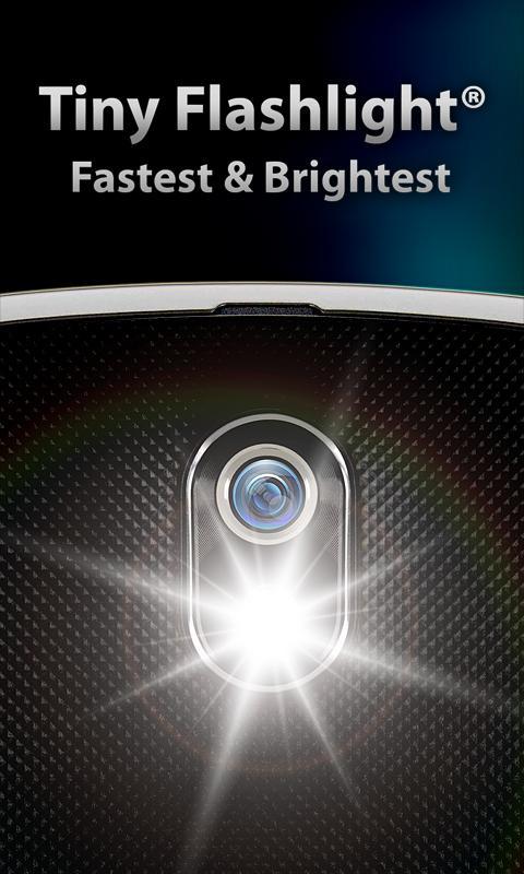 Photo of تطبيق المصباح  للأندرويد tiny flashlight