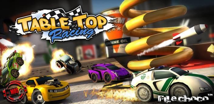 Photo of لعبة السيارات الصغيرة Table Top Racing