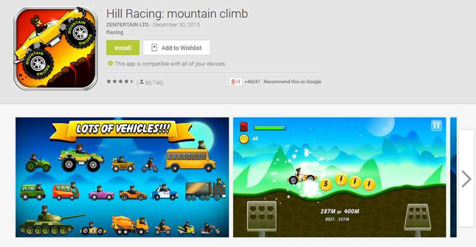 Photo of Hill Racing: mountain climb جاهزة + آخر آصدار