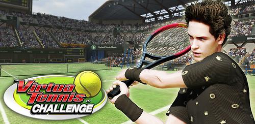 Photo of لعبة التنس الارضي الرائعة     virtua tennis challenge app + data