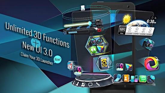 Photo of مراجعة لانشر { Next Launcher 3D Shell } الذي يحتوي على الكثير من المميزات