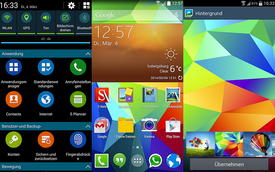 Photo of روم جلكسي اس 4 مشابهه جلكسي اس 5 |  S4 ROM Galaxy S5 Edition i9505