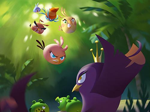 Photo of هكذا ستبدو اللعبة القادمة Angry Birds Stella