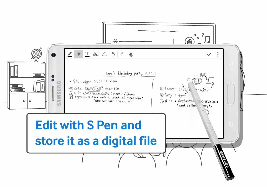 Photo of سامسونج تعرض فيديو ترويجي لمميزات قلم S Pen للجالكسي نوت 4