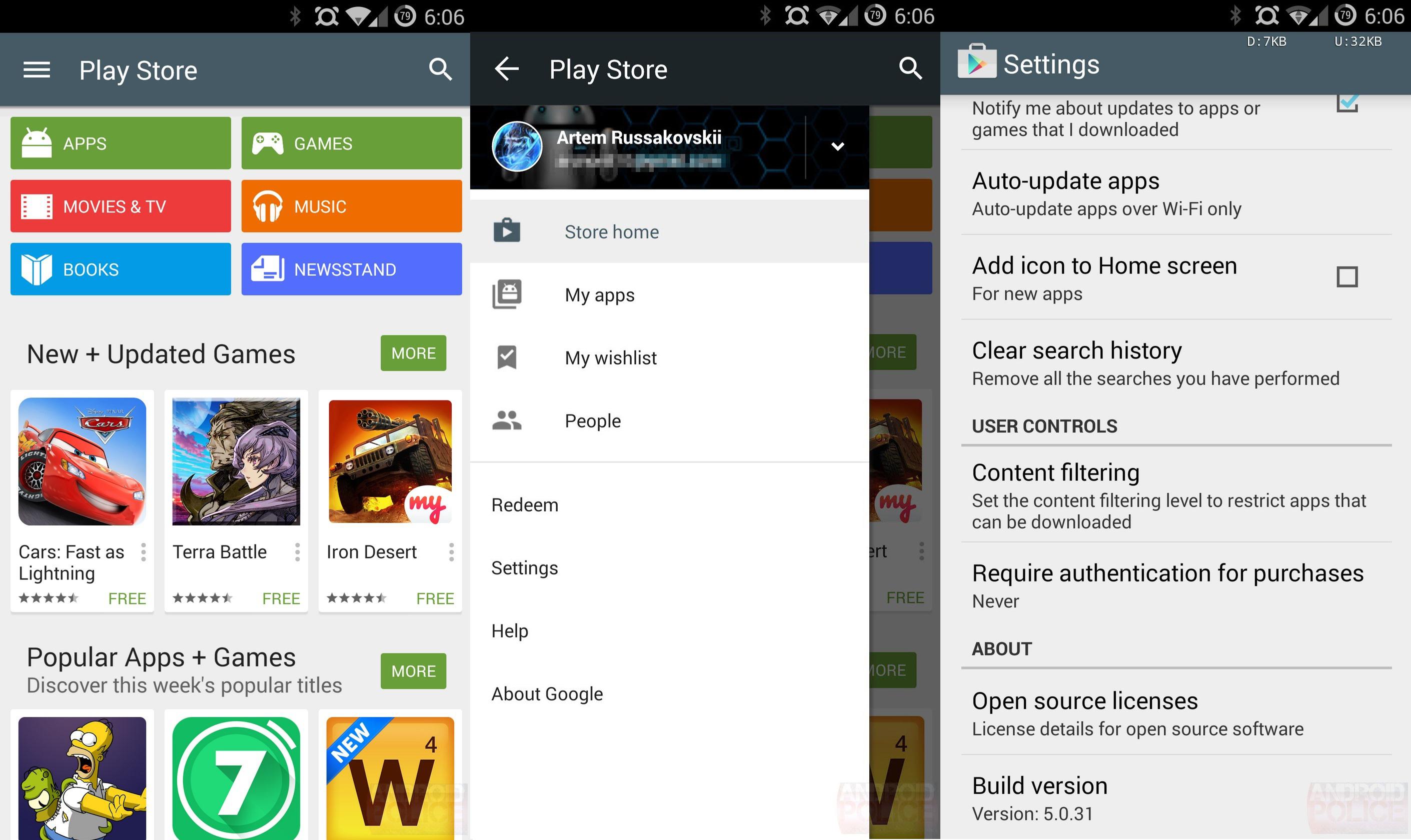 Photo of تحميل تحديث متجر تطبيقات الأندرويد Google Play Store v5.0.37 المزيد من تصميم ماتيريال ديزاين [تحديث]