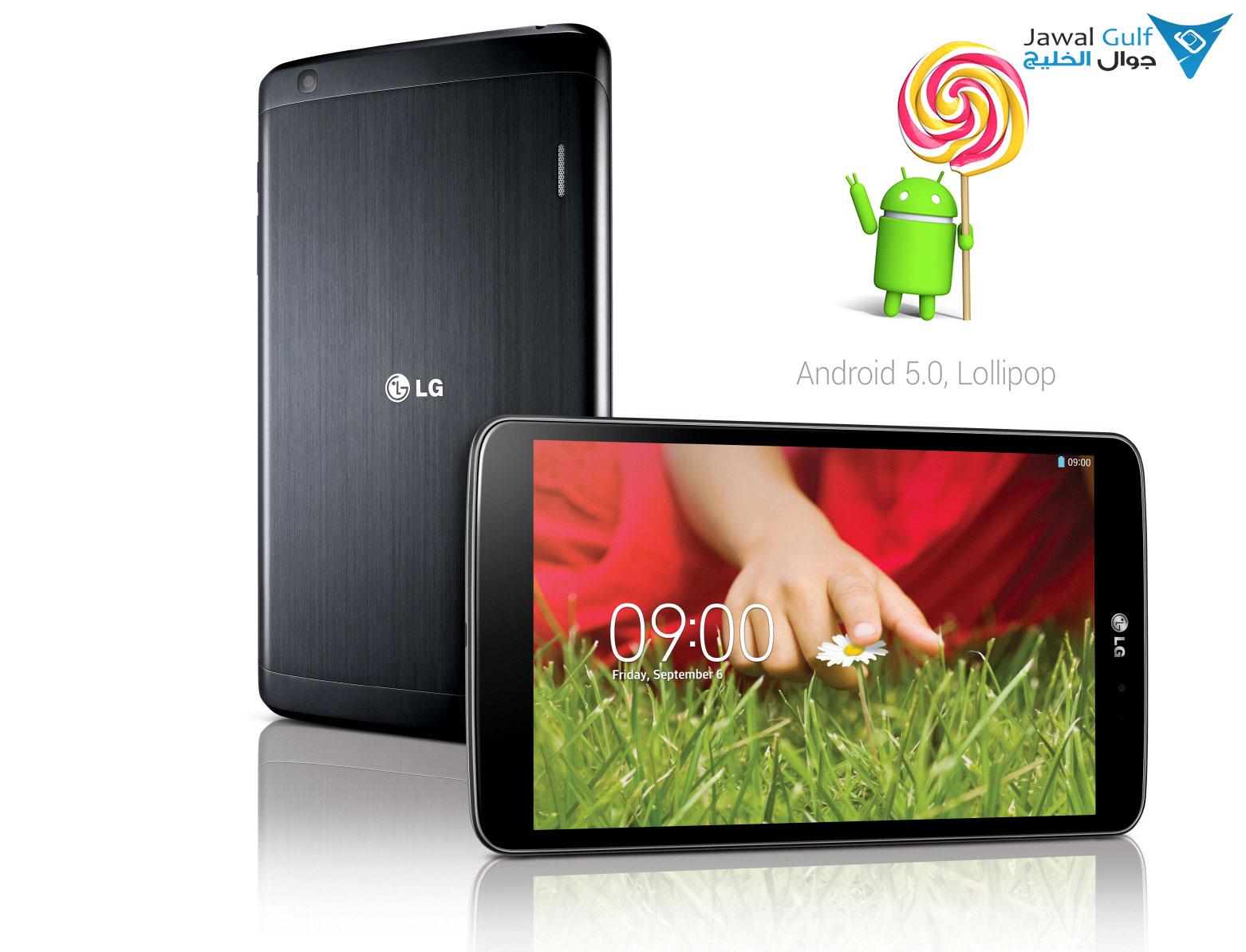 Photo of تحديث أندرويد لولي بوب يصل للجهاز اللوحي LG G Pad 8.3 Google Play Edition عبر OTA