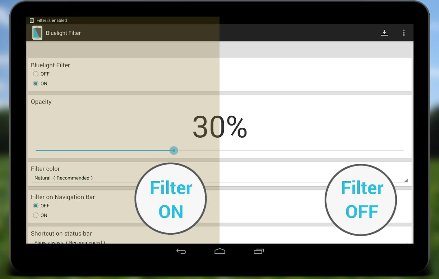 Photo of شرح تطبيق Bluelight Filter لحماية العين من اشعة الهاتف الضارة