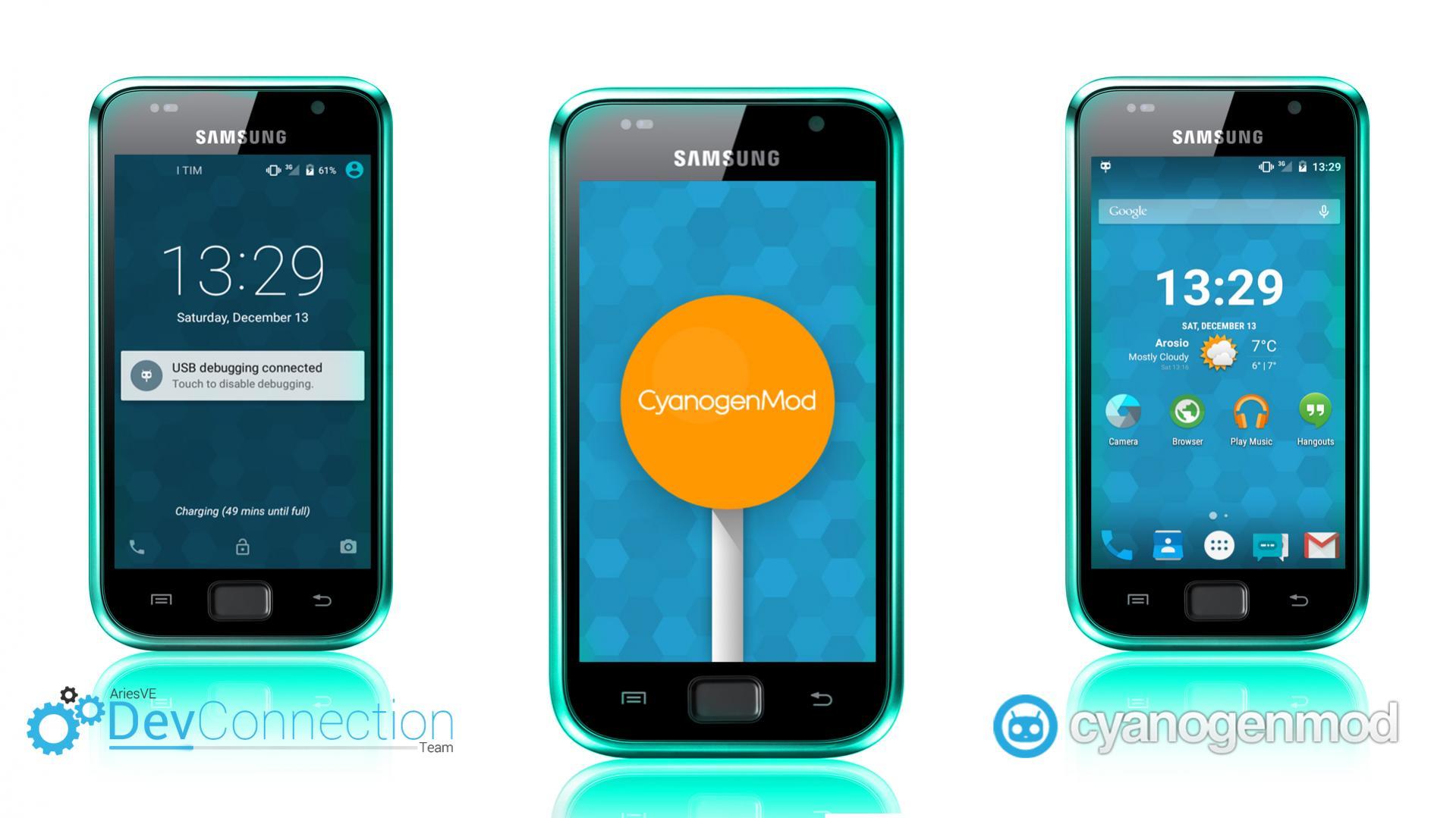 Photo of حصرياً: روم CyanogenMod 12 لولي بوب 5.0.1 للاس 1 بلس GT-I9001