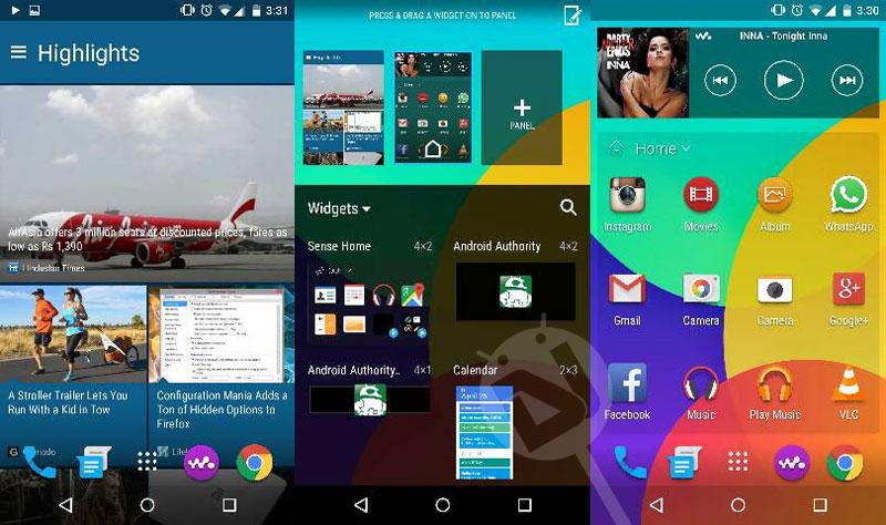 تثبيت تطبيقات ولانشر ومشغل موسيقى وكيبورد HTC One M9 على اي جهاز