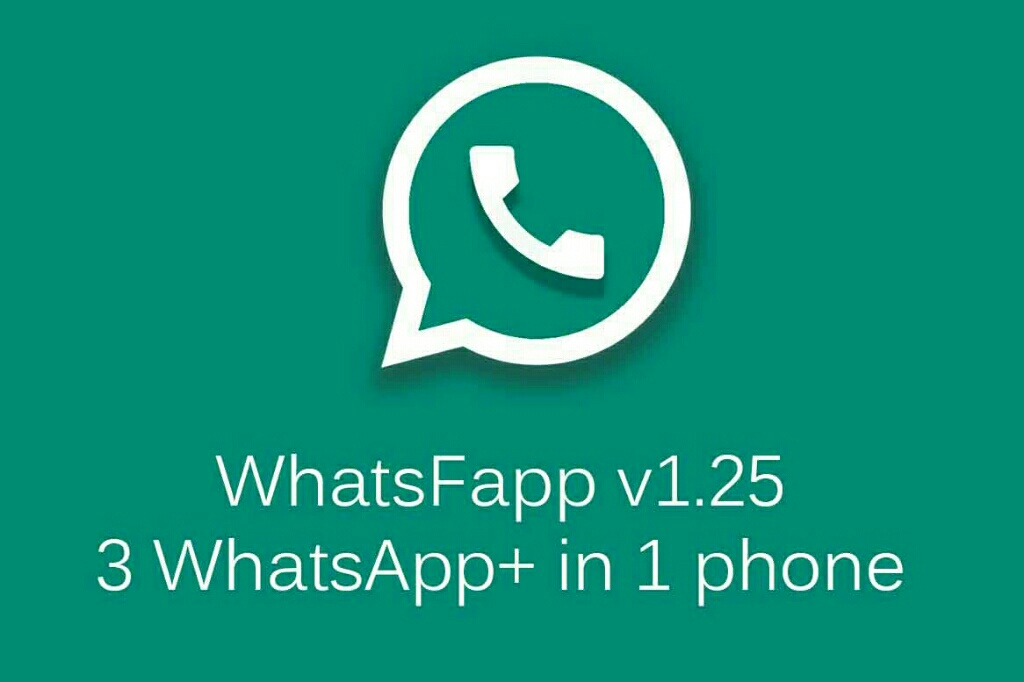 تطبيق WhatsFapp v1.25-2.12.73 لتحميل 3 واتس اب بلس في جهاز واحد بجانب الواتس اب الرسمي