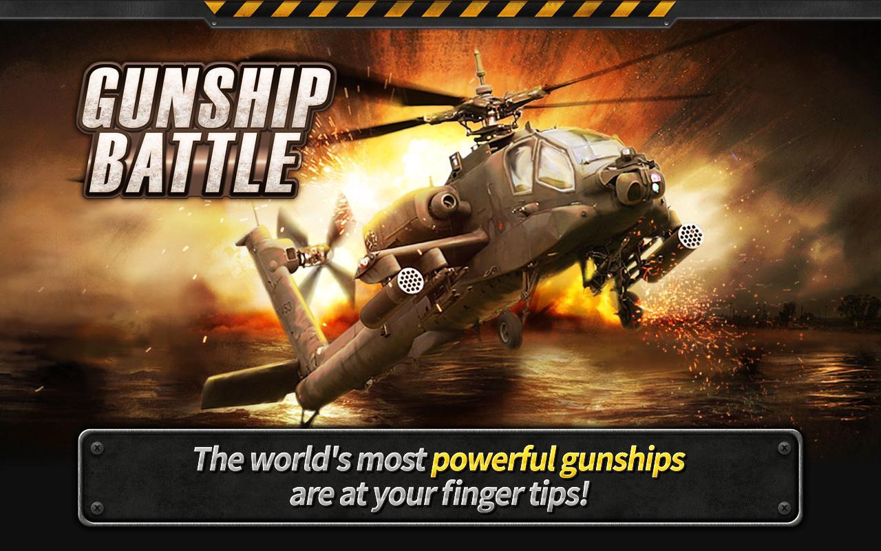 Photo of لعبة الطيارات الشهيرة GUNSHIP BATTLE : Helicopter 3D معدلة و كاملة للاندرويد