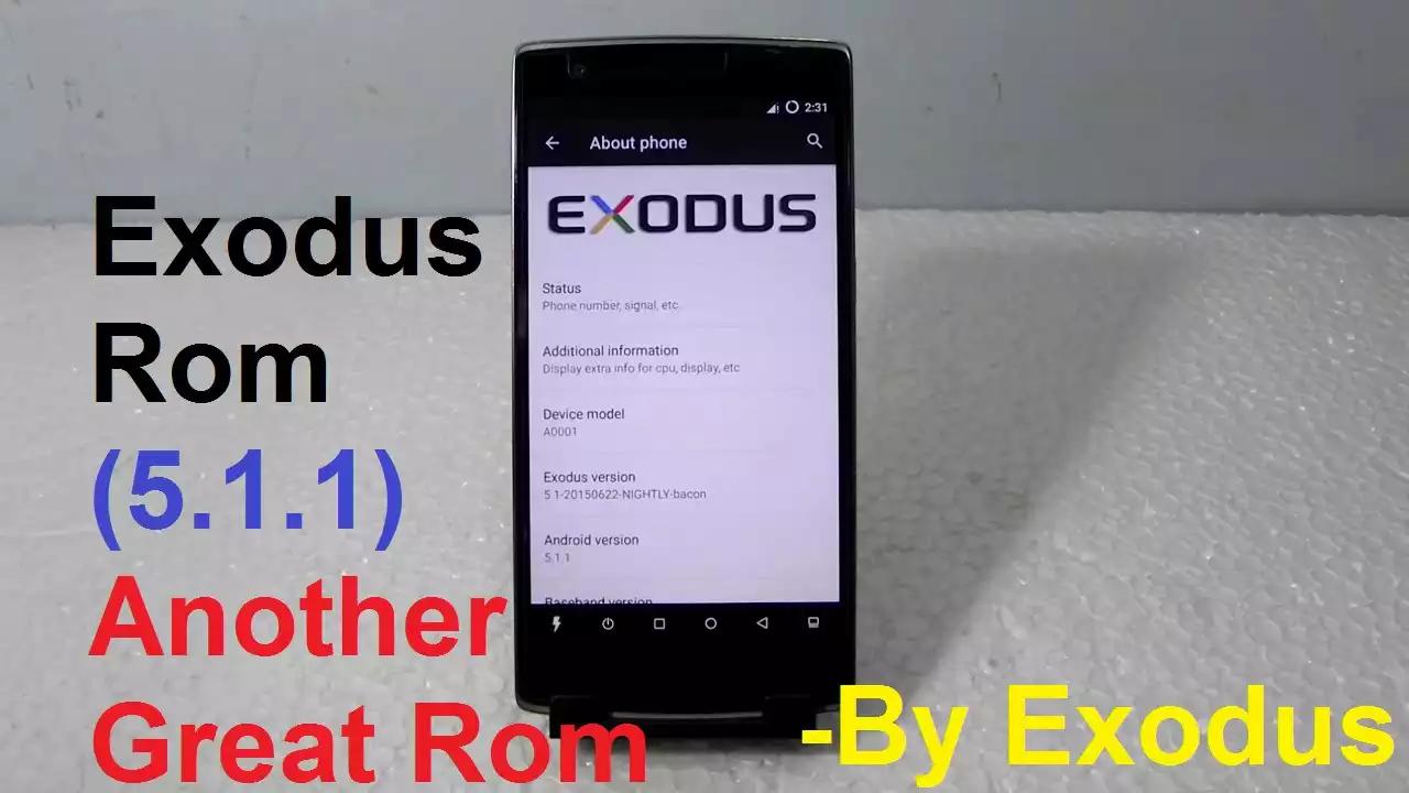Photo of روم Exodus اندرويد لوليبوب 5.1.1 للون بلس ون