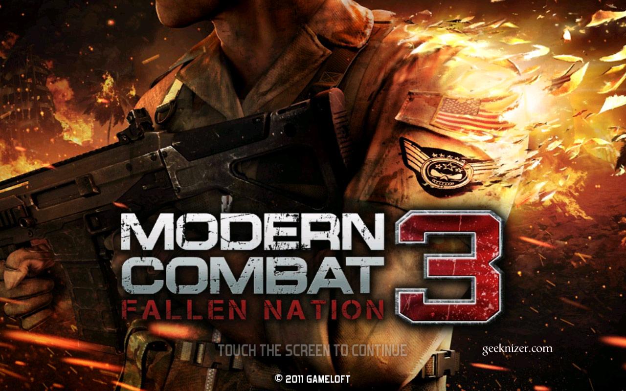 Photo of لعبة Modern combat 3 معدلة وكاملة للاندرويد