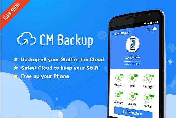 Photo of تطبيقCM BACKUP لرفع ملفاتك الخاصة بأمان