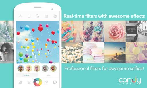 "Photo of تطبيق Candy Camera افضل تطبيق لالتقاط صور ""Selfie"""