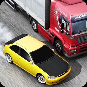 لعبة اجتياز السيارات الرهيبة Traffic Racer كاملة للاندرويد