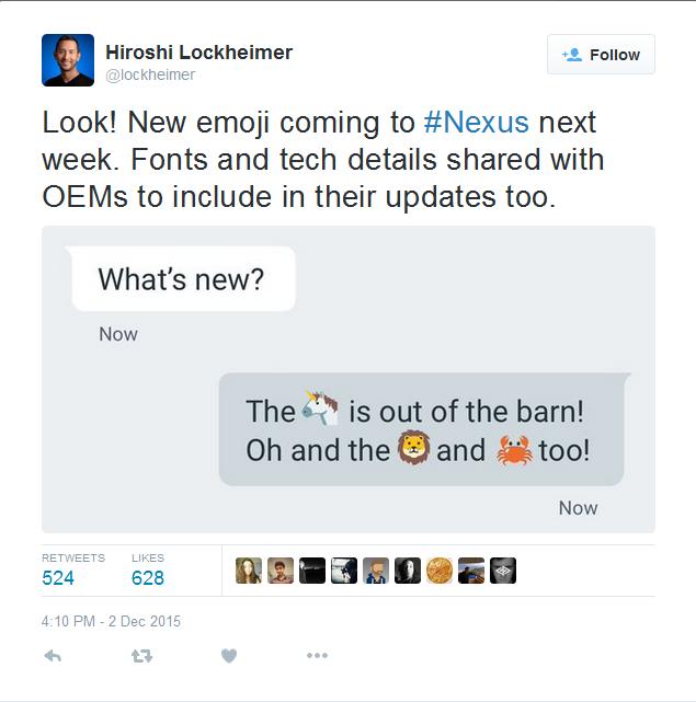 Photo of وجوه تعبيرية جديدة للأندرويد قادمة لأجهزة النكسوس الاسبوع المقبل!
