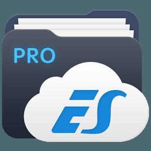 النسخه المدفوعه من تطبيق ES File Explorer لادارة الملفات