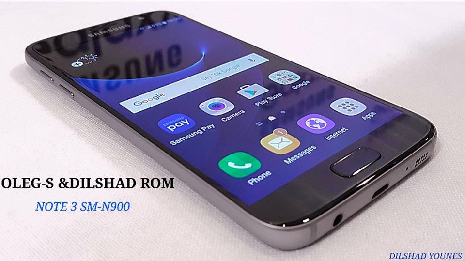 Photo of روم OLEG-S & DILSHAD  المسحوب من النوت 5 لهاتف نوت 3 موديل N900