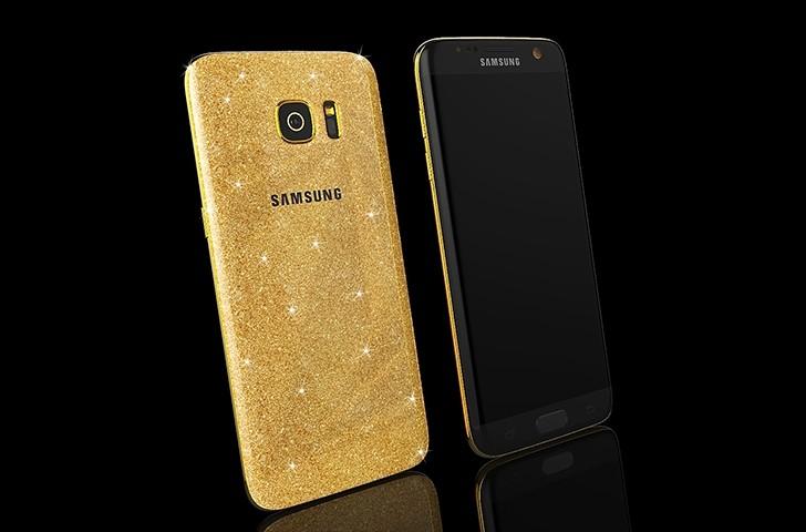 Photo of Goldgenie تعرض هاتف S7 مرصع بالذهب من نوع 24 قيراط