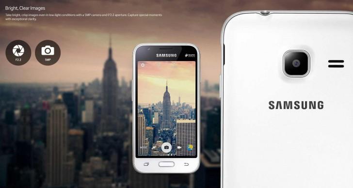 Photo of اعلان شركة سامسونج عن هاتفها الجديد Galaxy J1 Mini