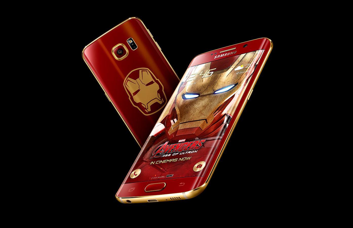 ثيم Iron Man لهاتف النوت 5 وجميع هواتف الأس 6