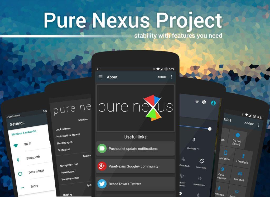 روم Pure Nexus اندرويد مارشميلو 6.0.1 للنكسوس 6P
